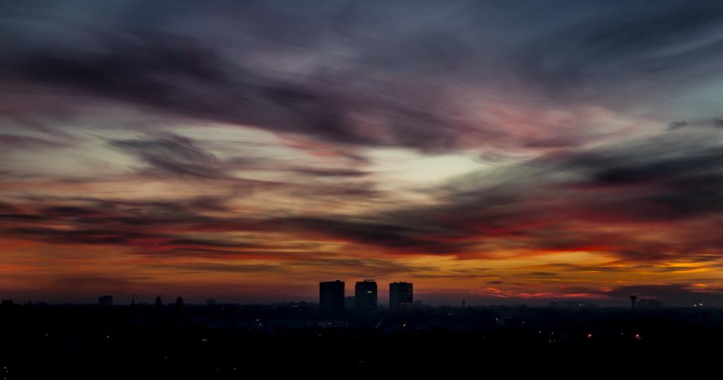 Zachód słońca Jeżyce