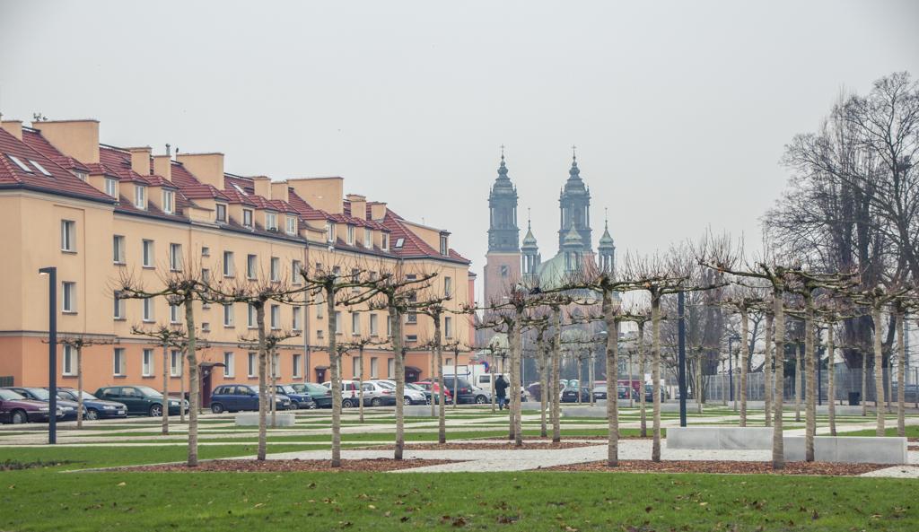 Skwer przy ulicy Gdańskiej