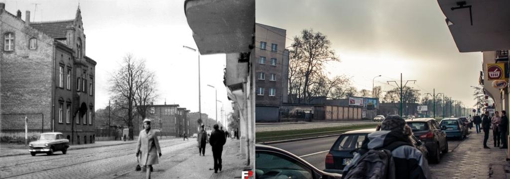 Ulica Grunwaldzka, lata 70-te