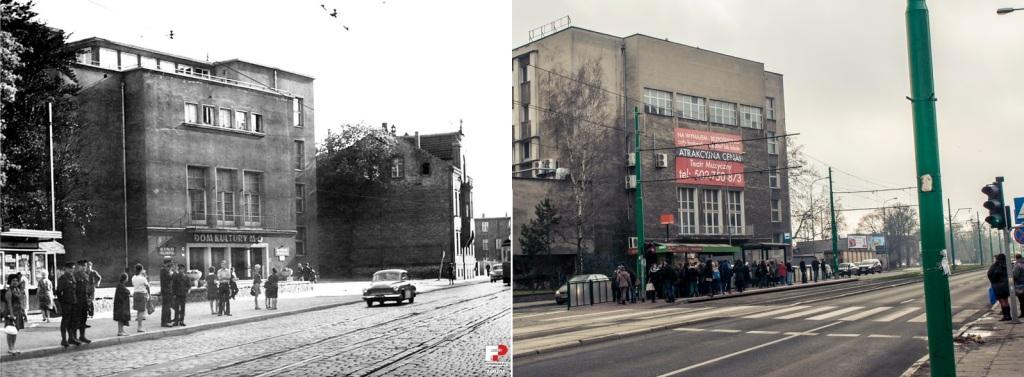 Ulica Grunwaldzka Dom Kultury MO,  1968-70