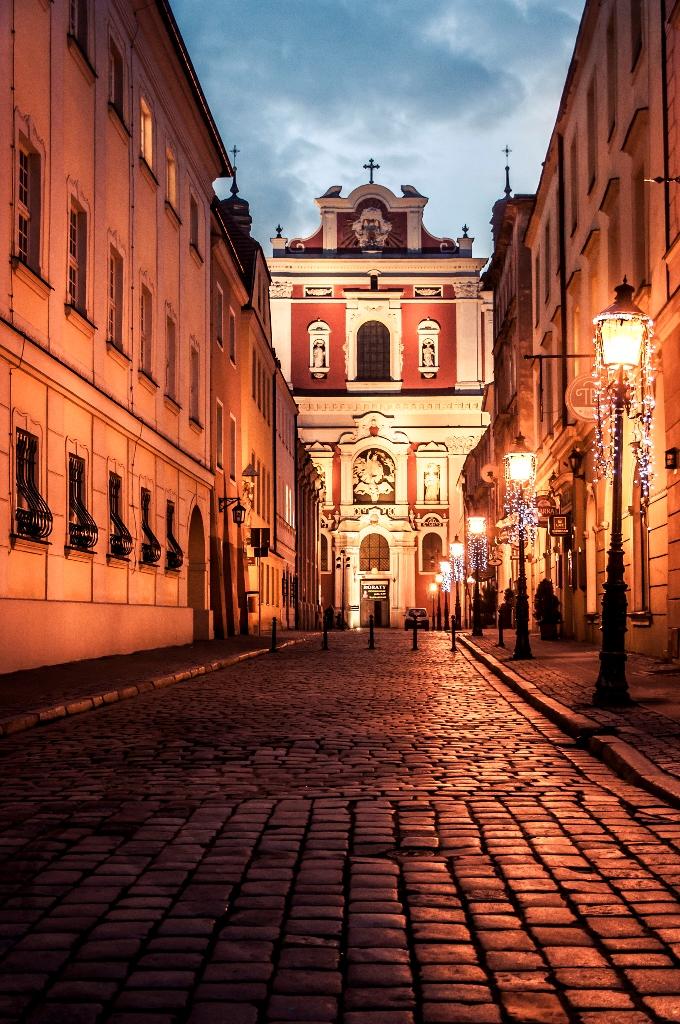 Poznań o poranku (2)