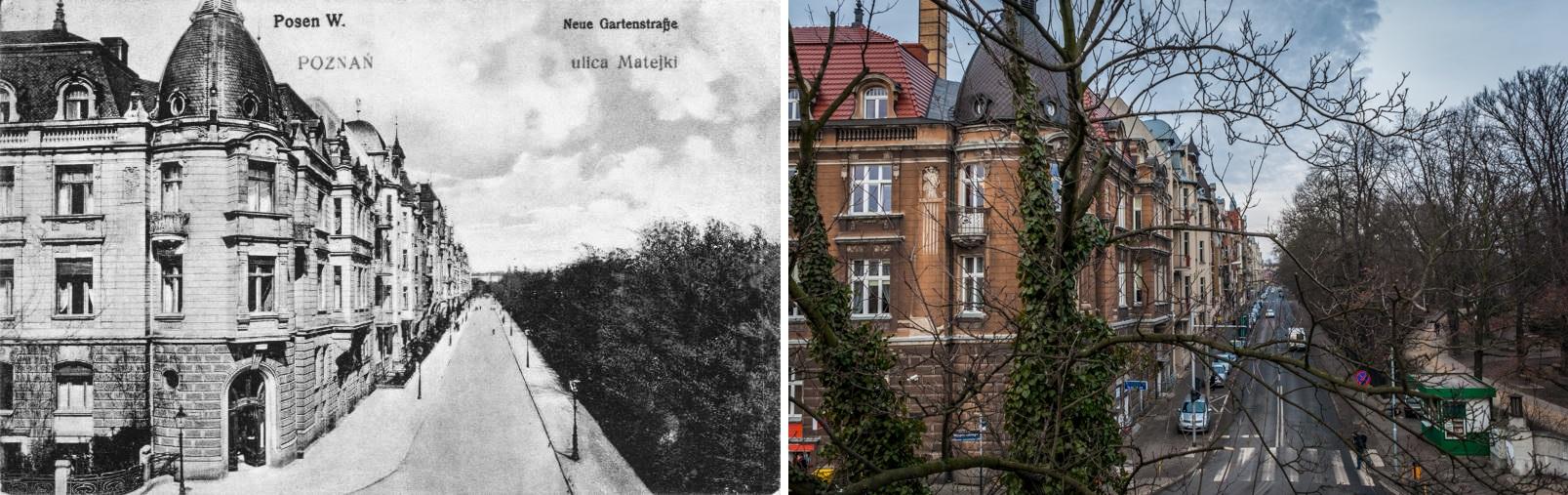 Matejki Neue Gartenstrasse 1905-15