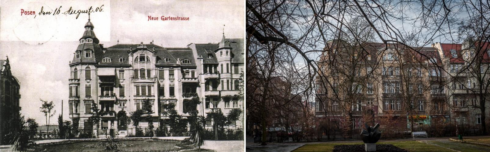 Matejki Neue Gartenstrasse 1906